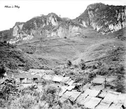 Le village chinois de Nam Quouat. C'est le premier village rencontré après avoir franchi la Porte de Chine.