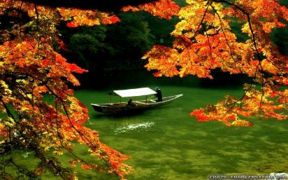 boat-on-river-autumn-in-japan-wallpapers-1680x1050