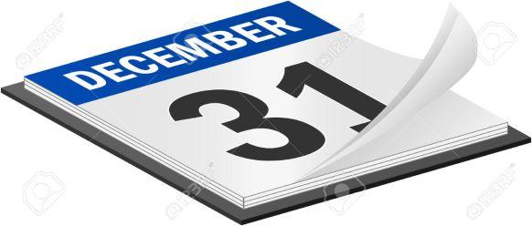 6081279-3d-vector-calendar-december-31th-last-day-of-the-year-stock-vector