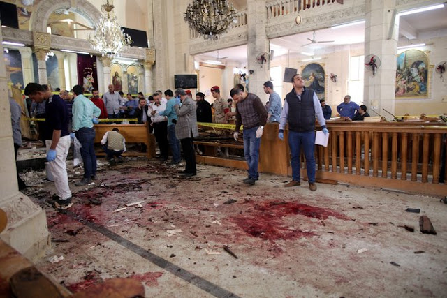 Egyptian Church bombed 10