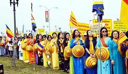 Biểu tình chống Trung Cộng Nam Cali 31.12.20174